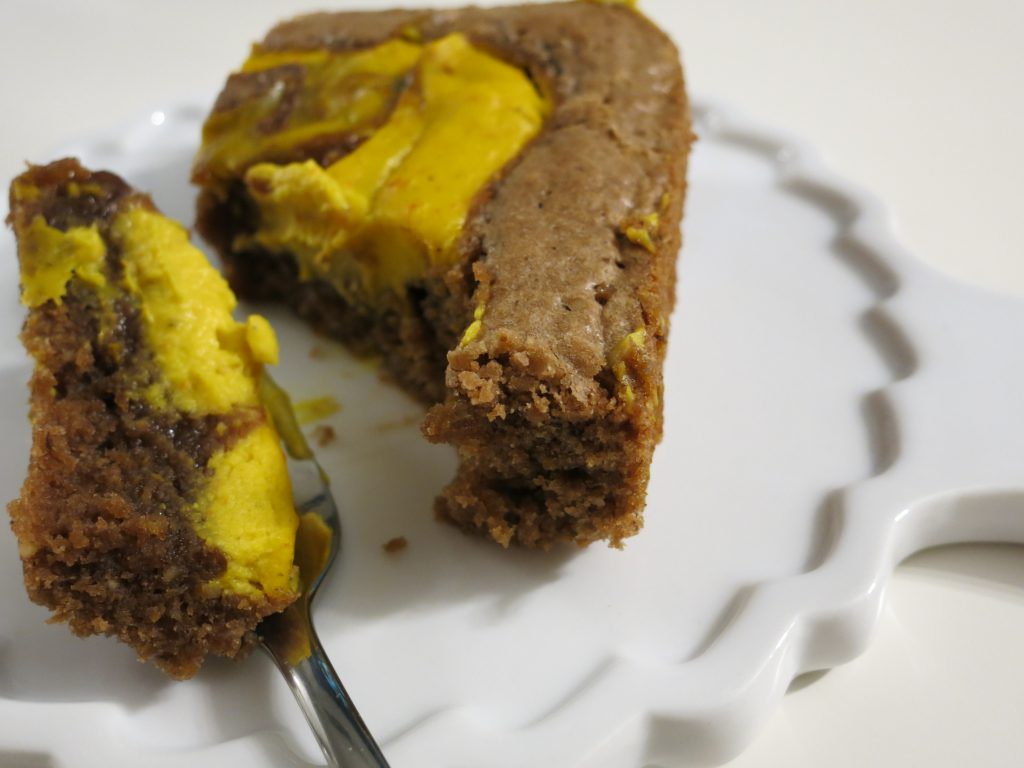 Pumpkin Spice Cream Cheese Brownies